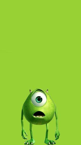 Обои на телефон мем, милые, майк, лайм, зеленые, восхитительные, wasowski, one, monster, inc