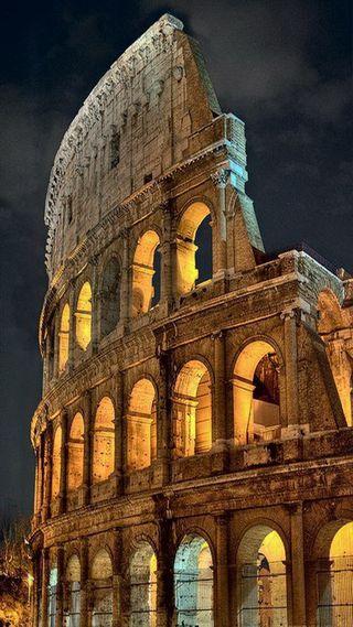 Обои на телефон рим, италия, the colosseum, colosseum