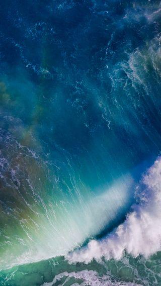 Обои на телефон синие, природа, море, андроид, айфон, iphone, ios, android, 10