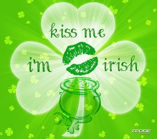 Обои на телефон ирландские, я, фан, праздник, поцелуй, пиво, ирландия, зеленые, вечеринка, везучий, kiss me im irish