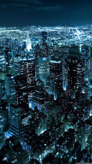 Обои на телефон фото, город, ночь, city night