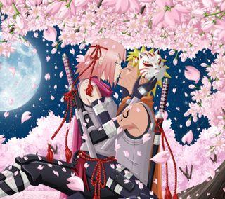 Обои на телефон узумаки, сакура, наруто, любовь, аниме, sakura e naruto, naruto shippuden, love, haruno