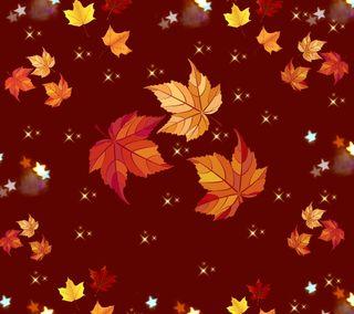 Обои на телефон осень, листья, фон
