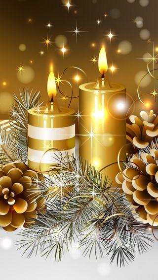 Обои на телефон праздник, рождество, декор