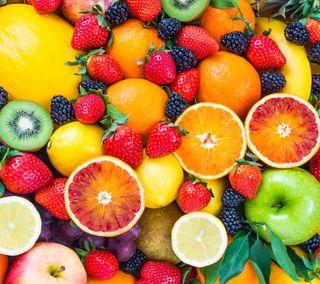 Обои на телефон hd, еда, свежие, фрукты