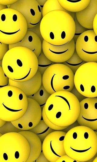 Обои на телефон смайлы, смайлики, милые, желтые, rb smile