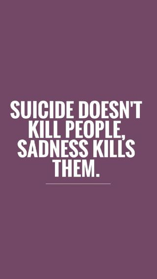 Обои на телефон самоубийца, депрессивные, грустные