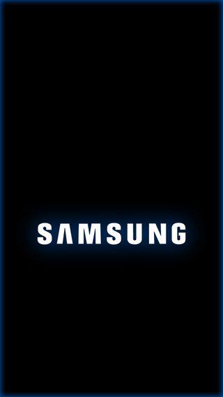 Обои на телефон синие, самсунг, огни, логотипы, грани, samsung, s9, s8, s7, note8