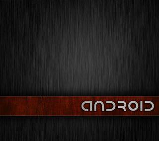 Обои на телефон стальные, дерево, андроид, android