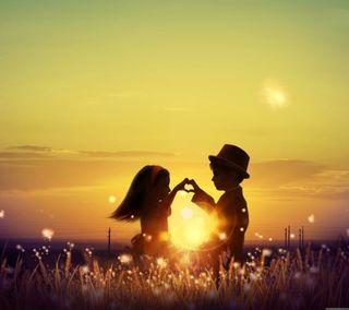 Обои на телефон дети, любовь, love