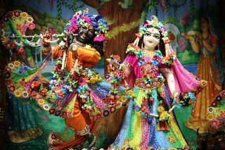 Обои на телефон радха, кришна, radha govind dev ji