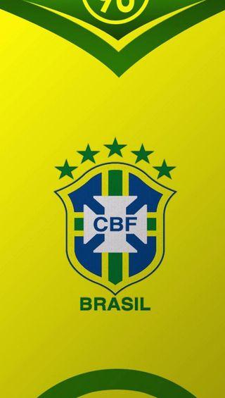 Обои на телефон значок, футбол, логотипы, бразилия, shirt badge, brazil football