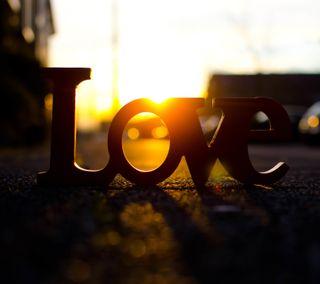 Обои на телефон солнечный свет, слово, сердце, природа, любовь, любовники, закат, love