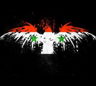 Обои на телефон официальные, черные, флаг, любовь, красые, зеленые, белые, syrian, syria, love, flag syria