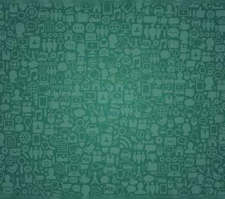 Обои на телефон текстуры, шаблон, зеленые, абстрактные, whatsapp