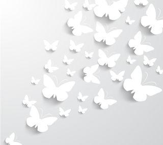 Обои на телефон женщина, бабочки, абстрактные, relieve, mariposa