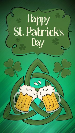 Обои на телефон трилистник, ирландские, пиво, патрик, кельтский, triquetra, trinity knot, st paddys beer knot, paddy