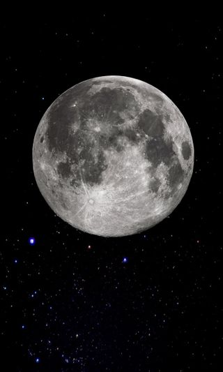 Обои на телефон небо, луна, космос, satelite
