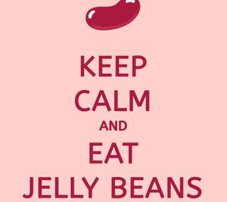 Обои на телефон спокойствие, красочные, конфеты, зерна, желе, еда, keep calm, zbean, snack