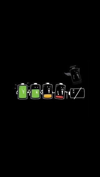 Обои на телефон жизнь, батарея, life battery