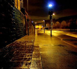 Обои на телефон улица, свет, огни, ночь, street lights, hd
