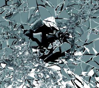 Обои на телефон формы, фон, стекло, сломанный, абстрактные, broken glass, abstract shape