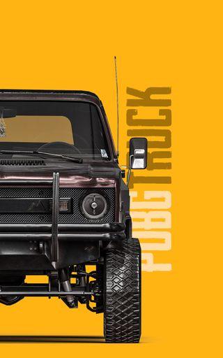 Обои на телефон грузовик, тюнинг, сильный, пабг, машины, игра, wrangler, tyre, truck - pubg, suspensions, pubg, defender