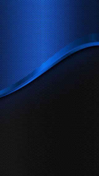Обои на телефон синие, грани, s7 edge
