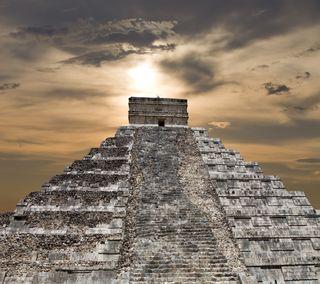 Обои на телефон пирамида, мексиканские, мексика, древний, maya