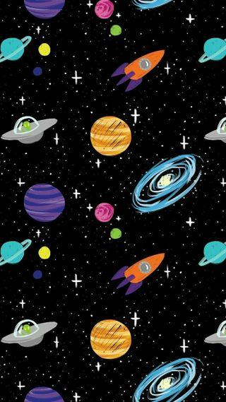 Обои на телефон планеты, вселенная, universo, planetas