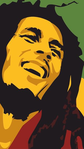 Обои на телефон певец, боб, songwriter, musician, jamaican, guitarist