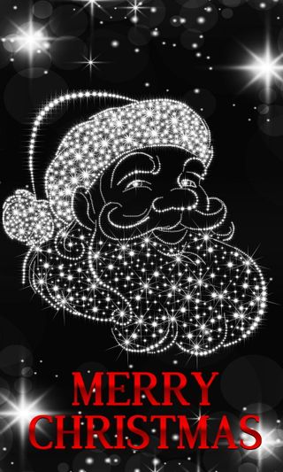 Обои на телефон пожелания, фон, сверкающие, санта, рождество, santa christmas wishes, christmas wishes, background sparkling