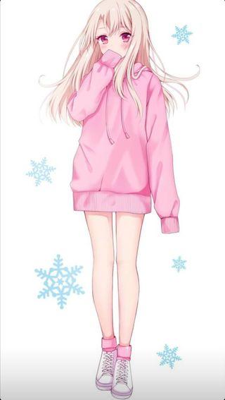 Обои на телефон каваи, прекрасные, милые, девушки, аниме, kawaii girl