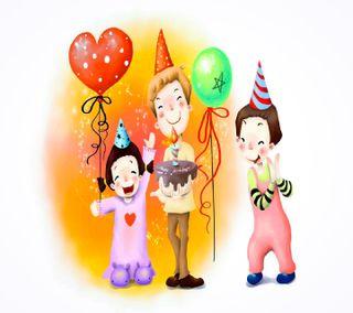 Обои на телефон вечеринка, день рождения, birthday  party