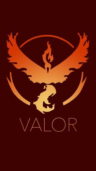 Обои на телефон team valor, игра, покемоны, команда, доблесть