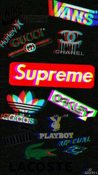 Обои на телефон логотипы, бренды, адидас, vans, supreme, stickerbomb, adidas