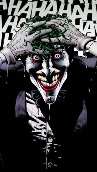 Обои на телефон сумасшедшие, джокер, бэтмен, hahaha, dc