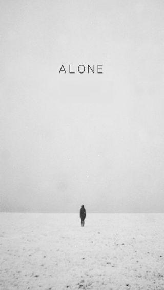 Обои на телефон грустные, темные, снег, природа, одиночество, одинокий, любовь, жизнь, белые, love