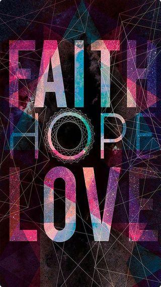 Обои на телефон вера, надежда, любовь, love, faithhopelove