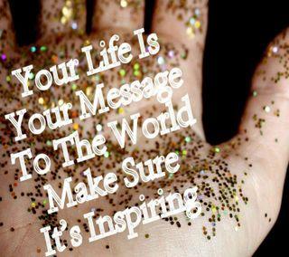 Обои на телефон сообщение, цитата, приятные, поговорка, новый, милые, крутые, жизнь, вдохновляющие, life ur message, 2013