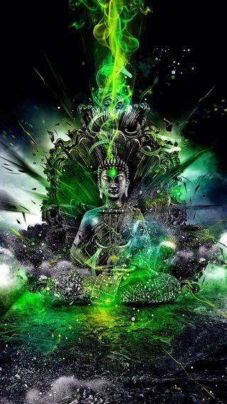 Обои на телефон удача, любовь, будда, бог, wow, buddha love