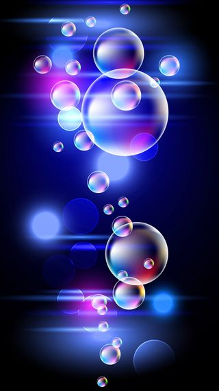 Обои на телефон пузыри, цветные, фон, красочные, блестящие, арт, art