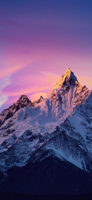 Обои на телефон 11, miui, redmi, xiaomi, горы, сяоми, редми, снежные