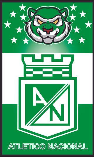 Обои на телефон колумбия, футбол, зеленые, atltico nacional, atletico nacional 9