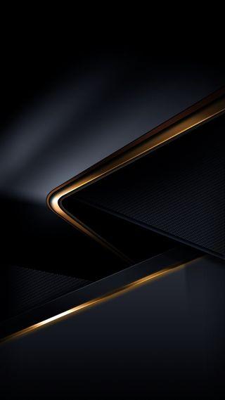 Обои на телефон серые, золотые, грани, черные, матовые, кожа, абстрактные, hd