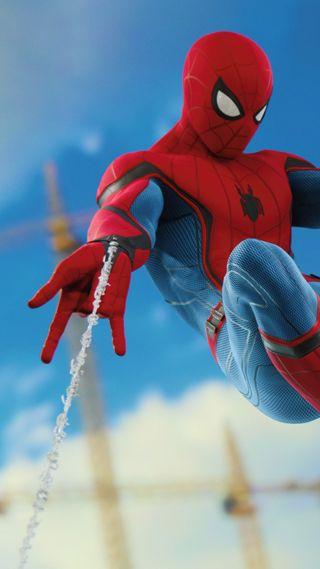 Обои на телефон экшен, человек паук, технологии, супергерои, мстители, игра, spidy, advanture