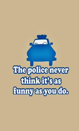 Обои на телефон юмор, шутка, полиция, забавные