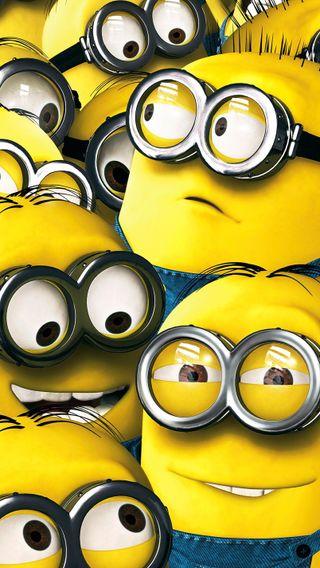 Обои на телефон я, мультики, миньоны, желтые, гадкий, minions hd