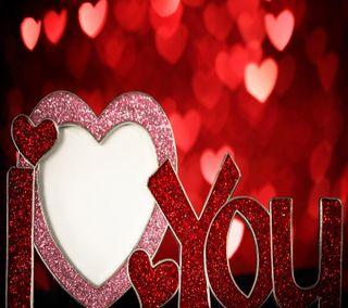 Обои на телефон сердце, день, валентинки