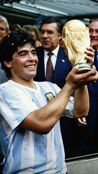 Обои на телефон аргентина, maradona leyenda, leyenda, afa